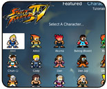 Street Fighter 4Tube for Boxee and mobile devices