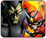 Super-Skrull vs. Viewtiful Joe Marvel vs. Capcom 3 Showdown Spotlight
