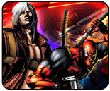 Deadpool vs. Dante Marvel vs. Capcom 3 showdown