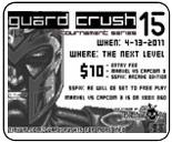 Guard Crush 15 Marvel vs. Capcom 3 & Super Street Fighter 4 AE results, stream archive