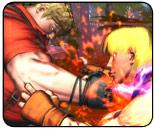 Street Fighter X Tekken: Tekken side can use four-button mode with no penalty
