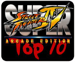 Top 10 players for Super Street Fighter 4 Arcade Edition's cast
