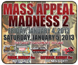 Mass Appeal Madness 2 steaming live from St. Louis - SSF4 AE v2012, UMvC3, TTT2, P4A and more