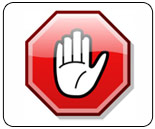 Asking users to disable their ad blocking software, and why it's important for EventHubs