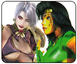 Ivy and B. Orchid figure out which female fighter is the breast in ScrewAttack's latest Death Battle
