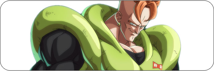 Android 16 Dragon Ball FighterZ artwork