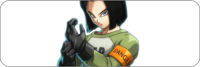 Android 17 Dragon Ball FighterZ artwork