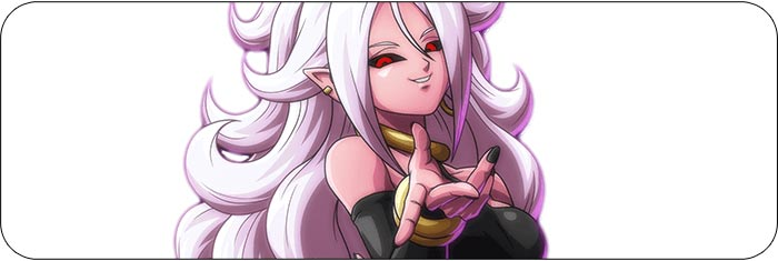 Android 21 Dragon Ball FighterZ artwork