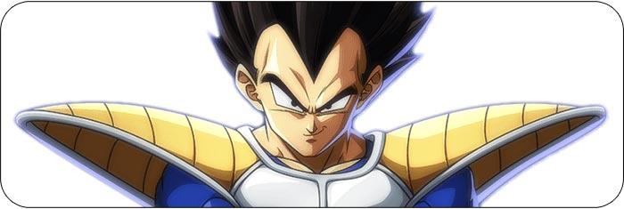 Base Vegeta Dragon Ball FighterZ artwork