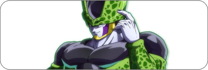 Cell Dragon Ball FighterZ artwork