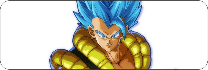 Gogeta Dragon Ball FighterZ artwork