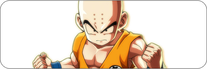 Krillin Dragon Ball FighterZ artwork