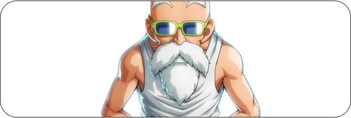 Master Roshi Dragon Ball FighterZ artwork