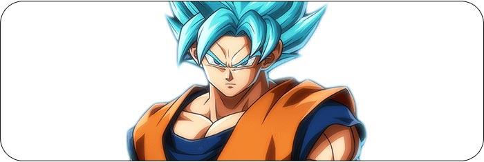 Blue Goku Dragon Ball FighterZ artwork
