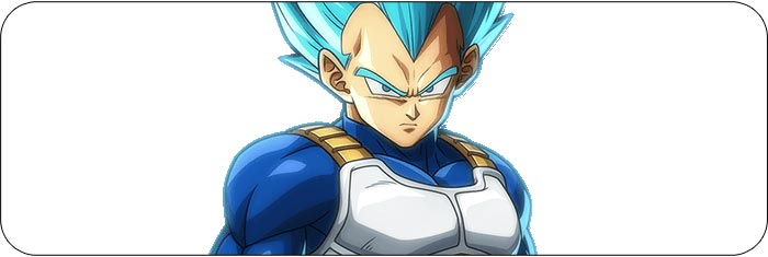 Blue Vegeta Dragon Ball FighterZ artwork