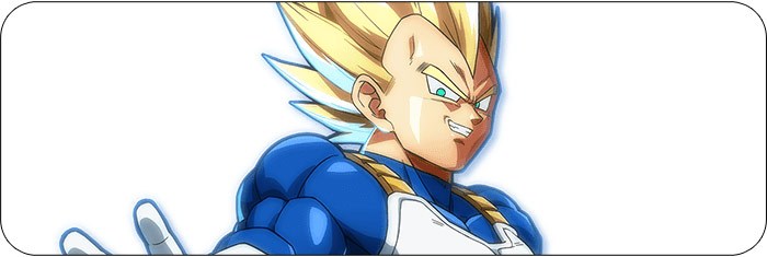 Vegeta Dragon Ball FighterZ artwork