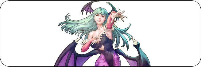 Morrigan Darkstalkers 2 Moves, Combos, Strategy Guide