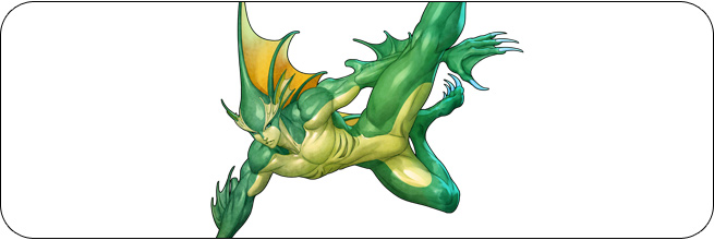 Rikuo Darkstalkers 2 Moves, Combos, Strategy Guide