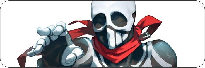 Skullomania Fighting EX Layer artwork
