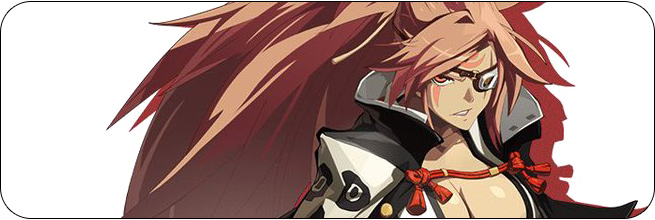 Baiken Guilty Gear Xrd REV 2 artwork