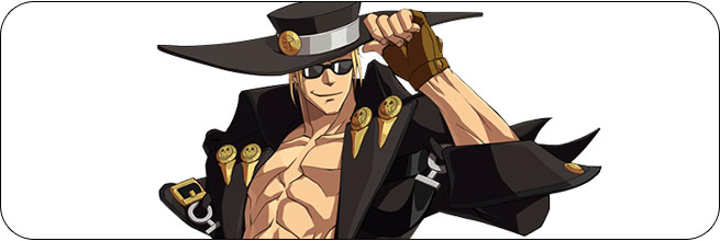 Johnny Guilty Gear Xrd REV 2 artwork