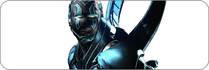 Blue Beetle Injustice 2 artwork