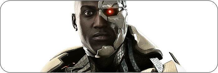Cyborg Injustice 2 artwork