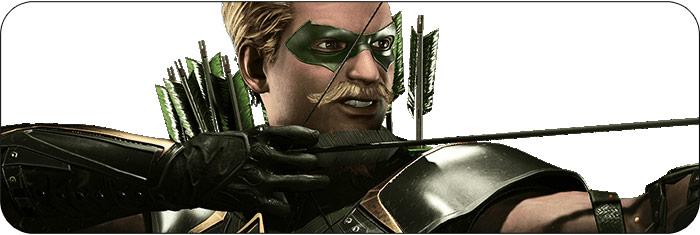 Green Arrow Injustice 2 artwork