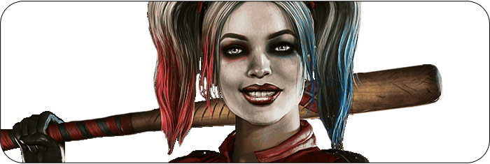 Harley Quinn Injustice 2 artwork