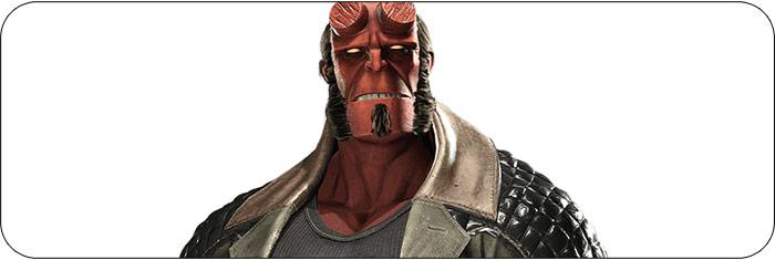 Hellboy Injustice 2 artwork