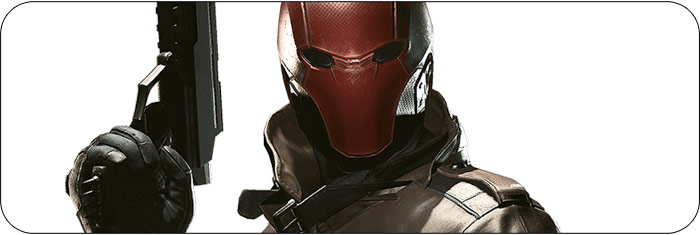 Red Hood Injustice 2 artwork