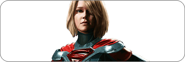 Supergirl Injustice 2 artwork