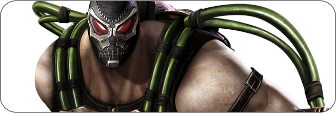 Bane Injustice: Gods Among Us Moves, Combos, Strategy Guide