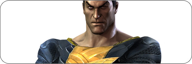 Black Adam Injustice: Gods Among Us Moves, Combos, Strategy Guide