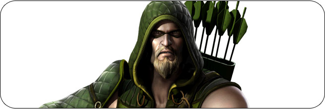 Green Arrow Injustice: Gods Among Us Moves, Combos, Strategy Guide