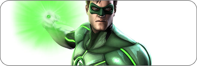 Green Lantern Injustice: Gods Among Us Moves, Combos, Strategy Guide