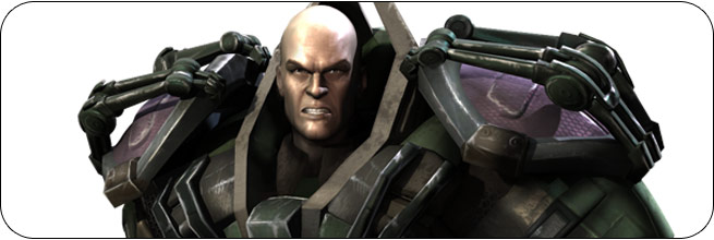 Lex Luthor Injustice: Gods Among Us Moves, Combos, Strategy Guide