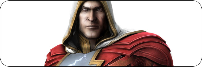 Shazam Injustice: Gods Among Us Moves, Combos, Strategy Guide