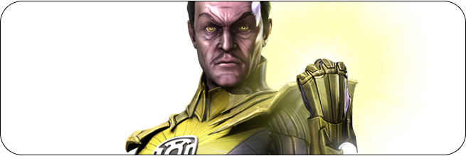 Sinestro Injustice: Gods Among Us Moves, Combos, Strategy Guide
