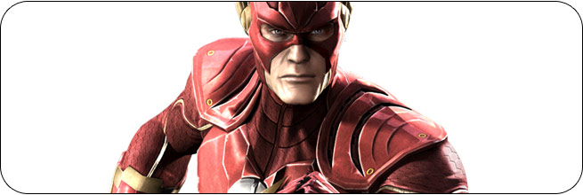 The Flash Injustice: Gods Among Us Moves, Combos, Strategy Guide