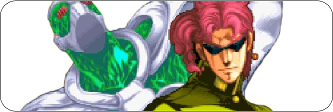 New Kakyoin (Sunglasses) JoJo's Bizarre Adventure Moves, Characters, Combos and Strategy Guides