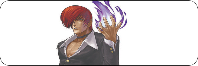 Iori w/ the Power of Flames King of Fighters 13 Moves, Combos, Strategy Guide