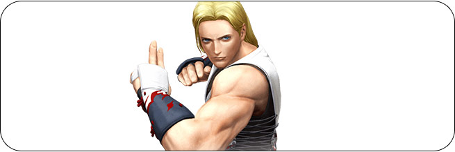 Andy King of Fighters 14 artwork