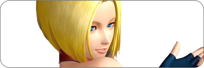 Blue Mary King of Fighters 14 artwork