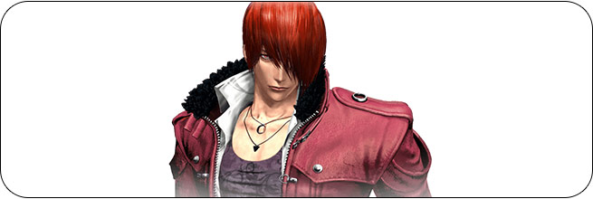 Iori King of Fighters 14 artwork