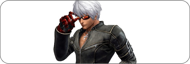 K' King of Fighters 14 artwork