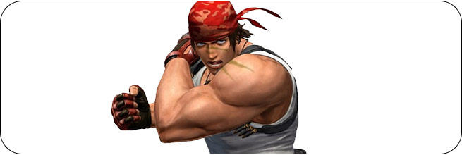 Ralf King of Fighters 14 artwork