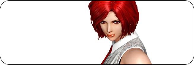 Vanessa King of Fighters 14 artwork