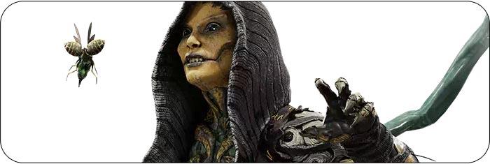 D'Vorah Mortal Kombat 11 artwork
