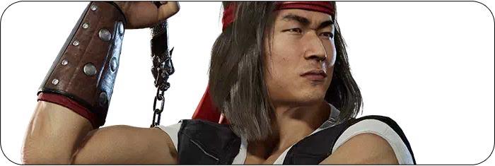 Liu Kang Mortal Kombat 11: Aftermath artwork